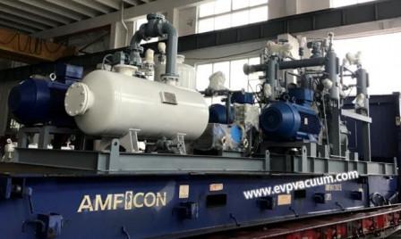 Жидкостно-кольцевой вакуумный насос и компрессор в производстве полибутадиена II в нефтехимической промышленности