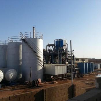 Завод переработки отработанного масла 10 т/час  в Судане