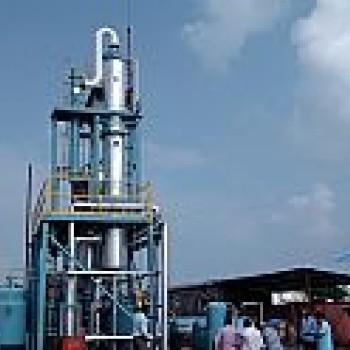 Корни и поршневые Вакуумный насос, используемые в сточных ТМ переработки завода в Индии