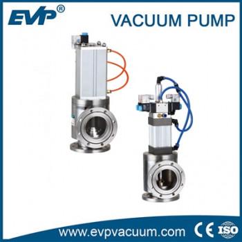 Нормально-закрытый пневматический заслоночный клапан высокого вакуума серии Gdq-J-A