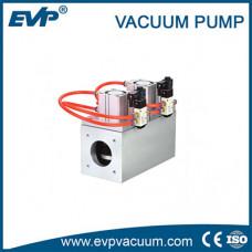 Трехходовой пневматический заслоночный клапан высокого вакуума Gdq-Js